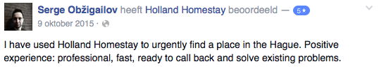 Review about Holland Homestay